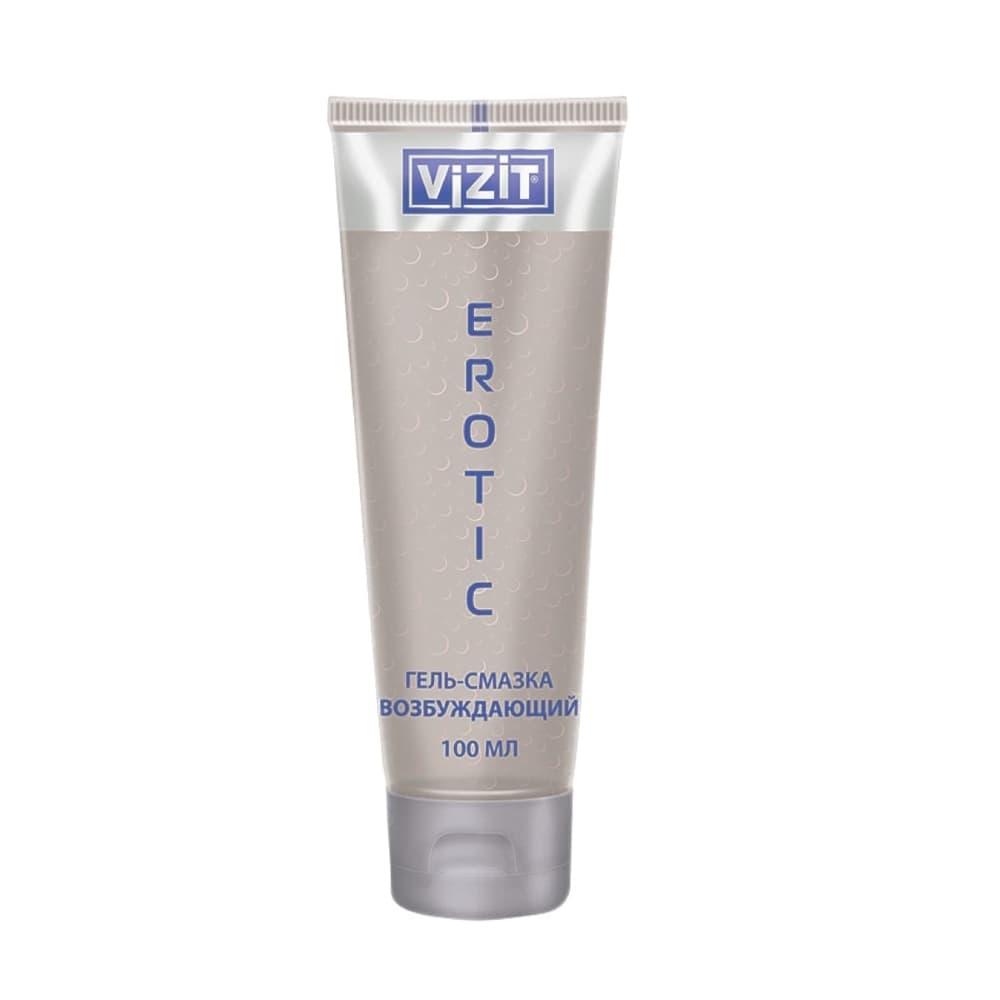 VIZIT Гель-смазка EROTIC возбуждающий, 100 мл