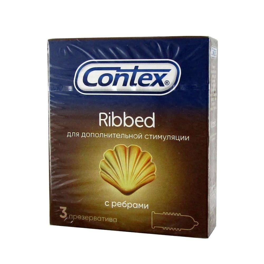 Презервативы Contex Ribbed 3 шт.