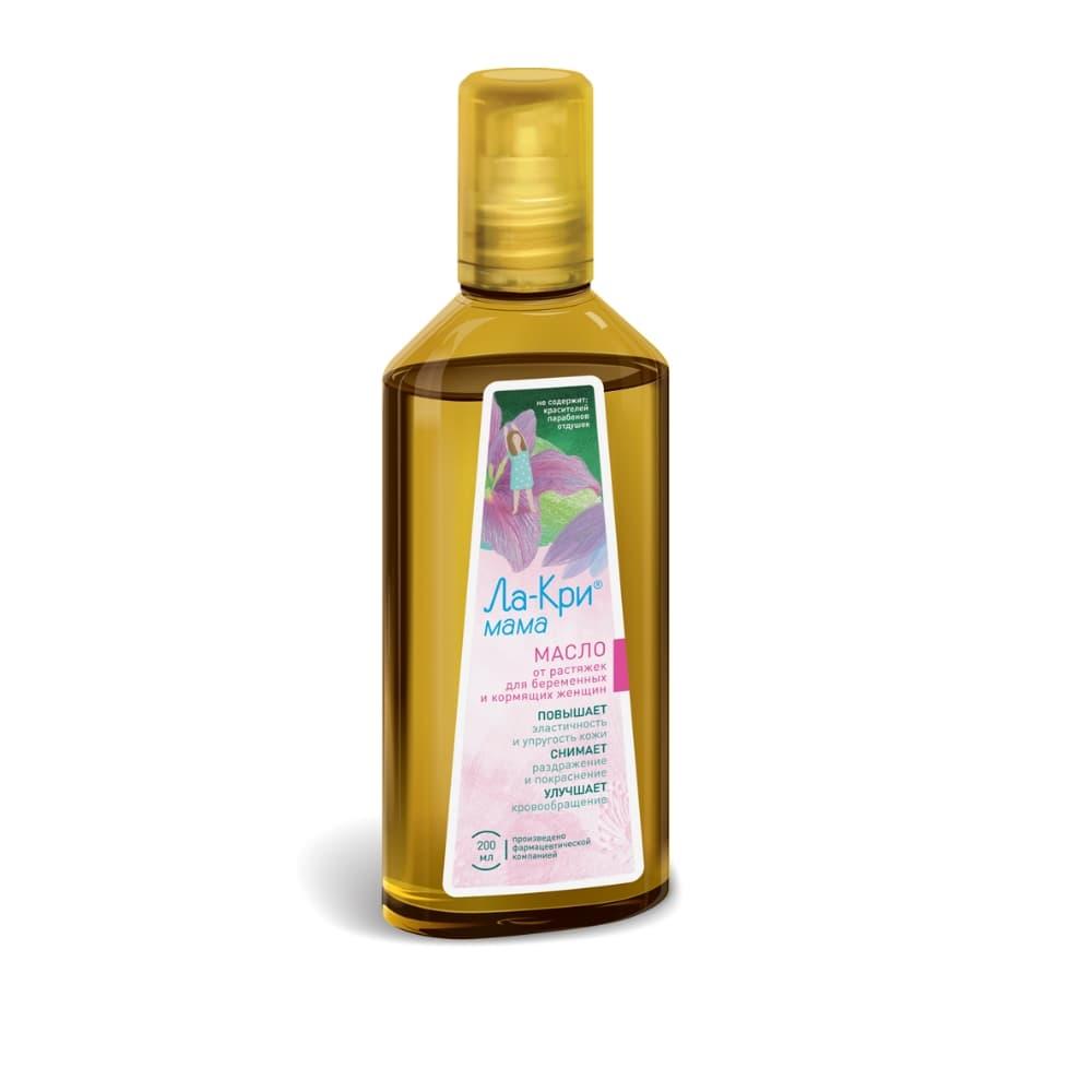 Ла-Кри Мама масло от образования растяжек флакон 200 мл