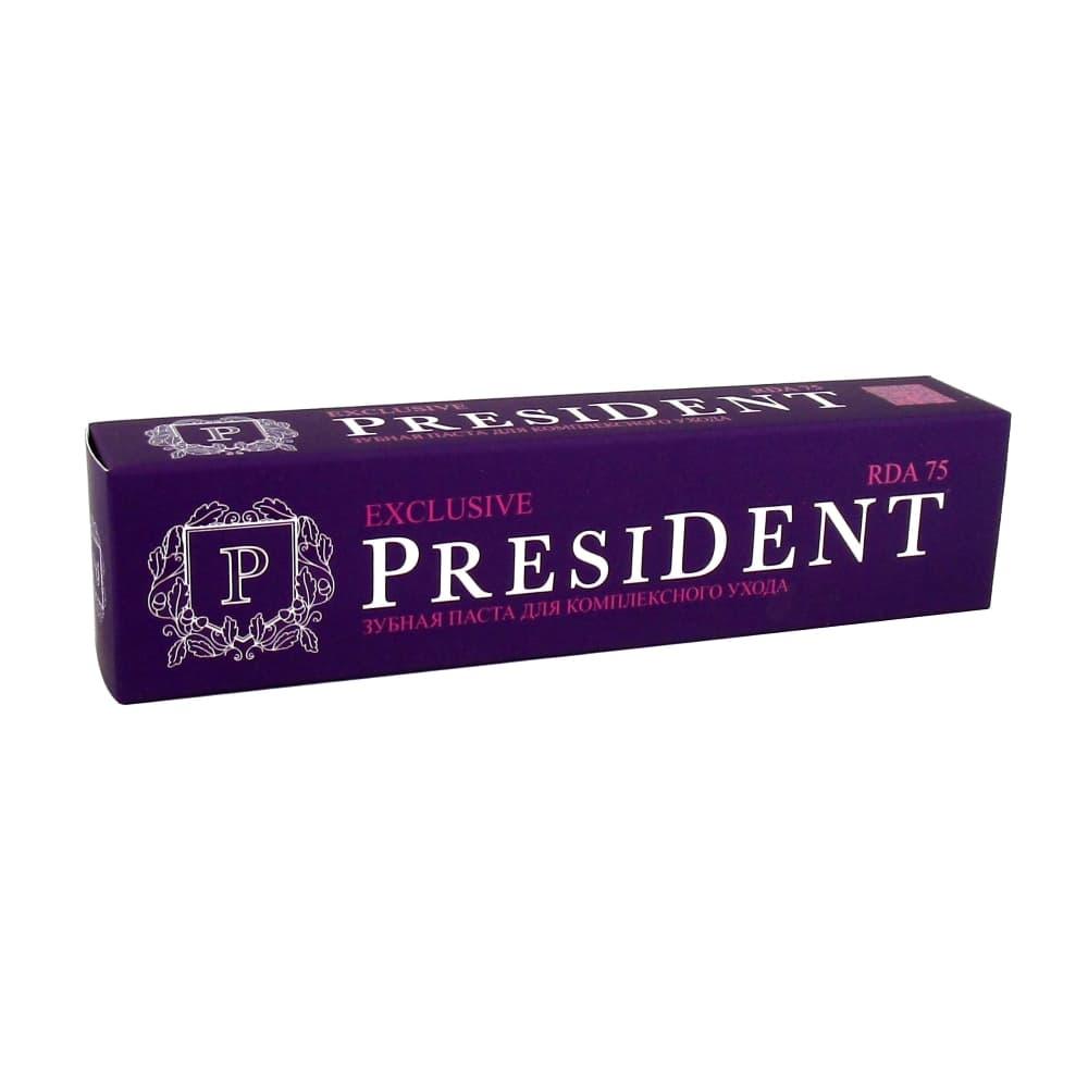 President Exclusive зубная паста, 100 мл