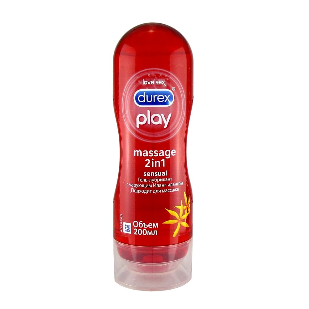 Durex Гель-смазка Play 2in1 Massage Иланг-иланг 200 мл.