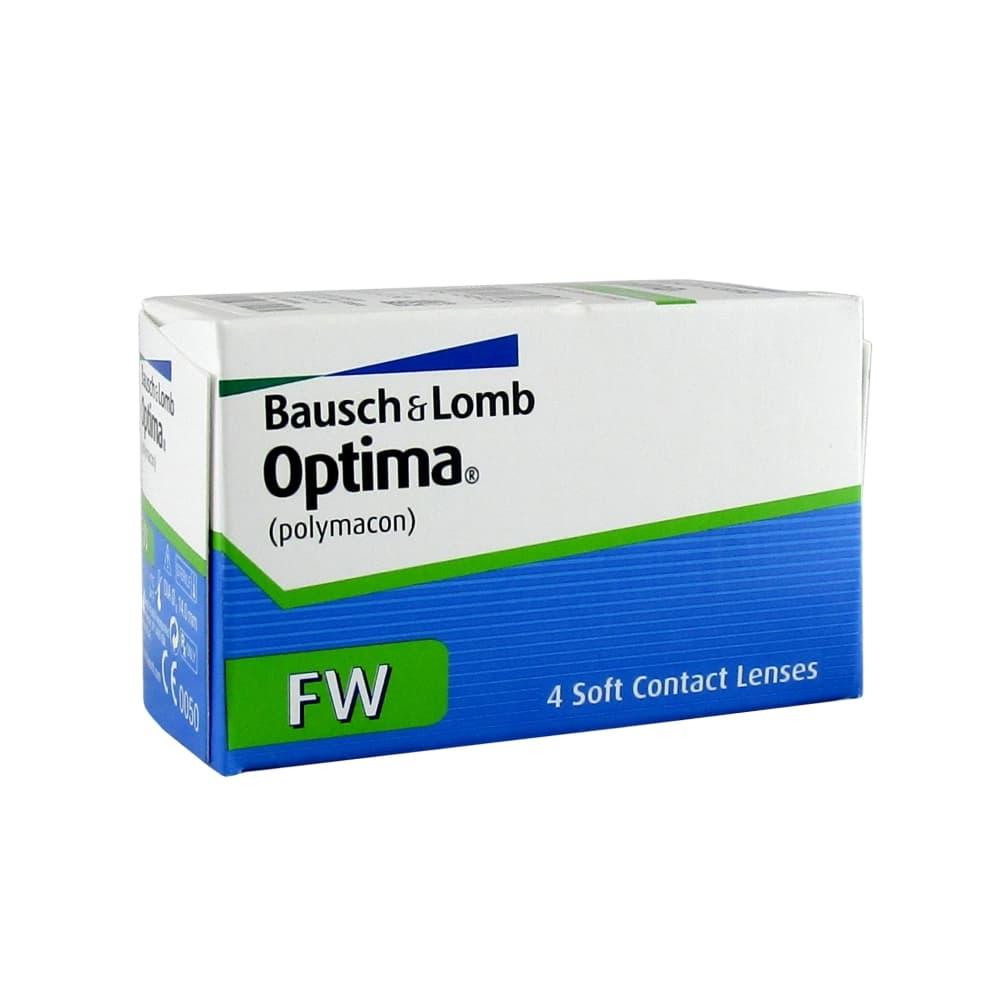 Optima FW Мягкие контактные линзы -1,25, 4 шт.