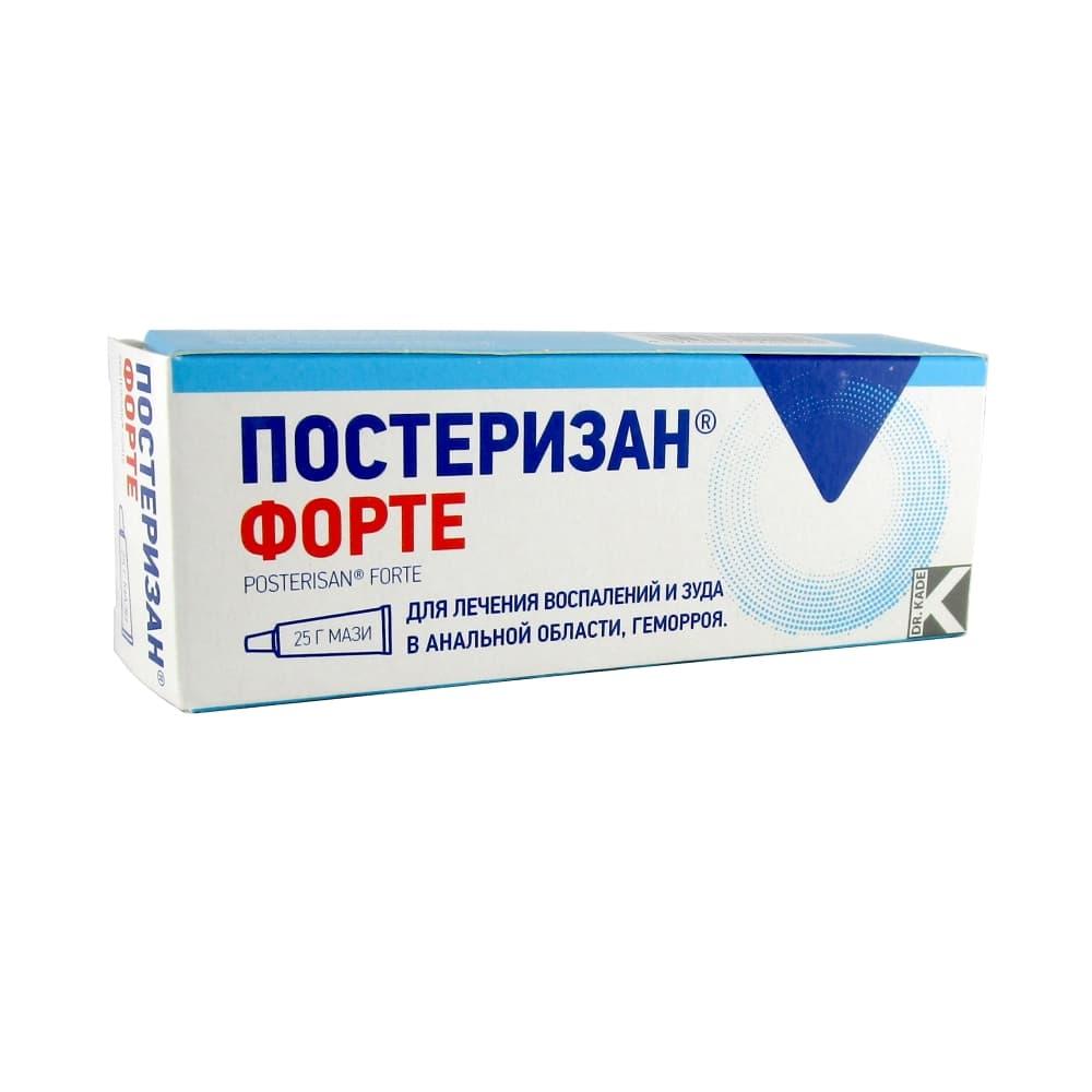 Постеризан Форте мазь, 25 гр