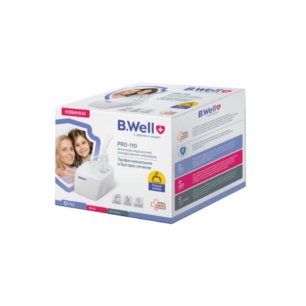 B.Well Ингалятор компрессорный PRO-110
