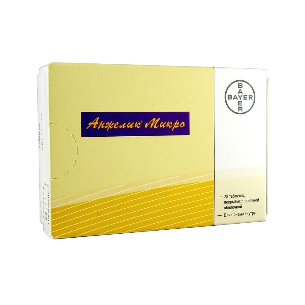 Анжелик Микро таблетки 0,25мг+0,50мг, 28 шт.