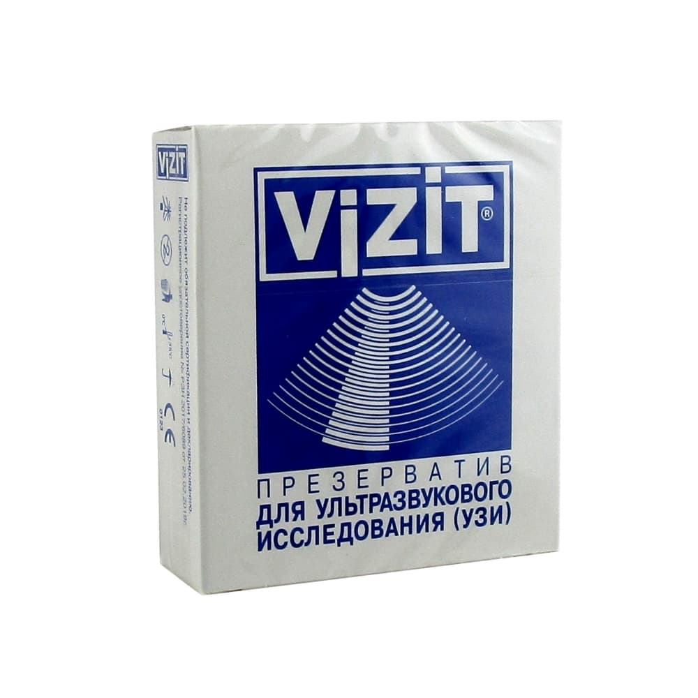 VIZIT Презерватив для УЗИ, 1 шт.