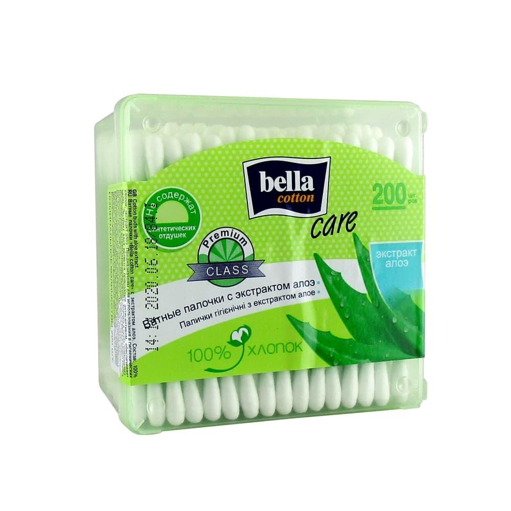 Bella Cotton care Ватные палочки с экстрактом алоэ, 200 шт