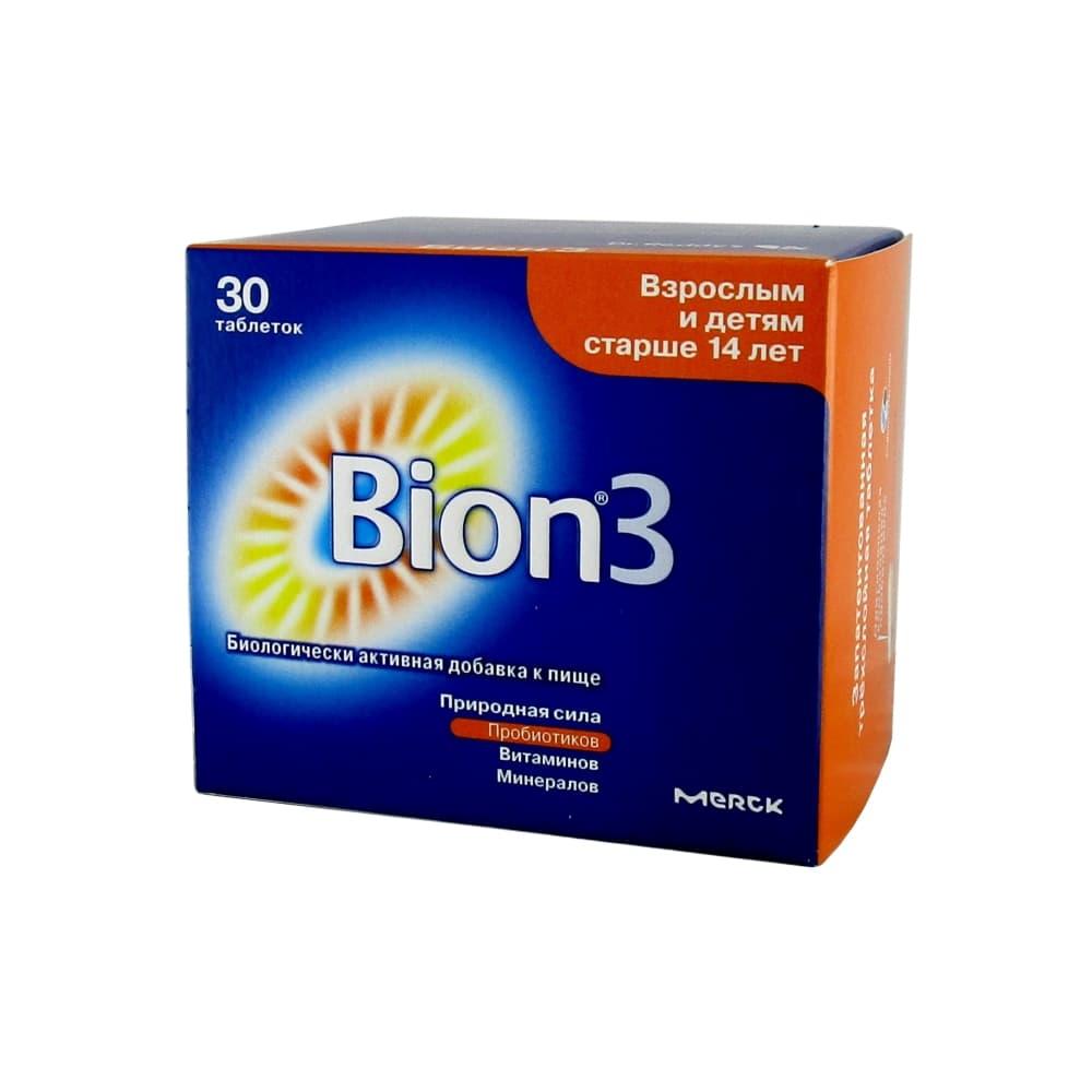 Бион 3 таблетки, 30 шт.