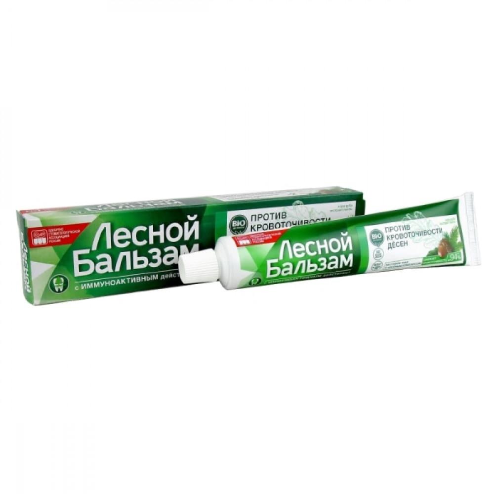 Лесной бальзам зубная паста против кровоточивости десен Дуб / пихта, 75 мл.