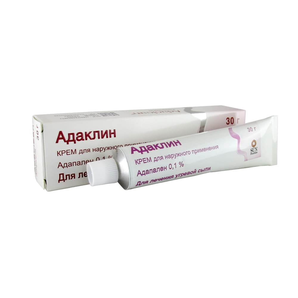 Адаклин крем 0,1%, 30 гр