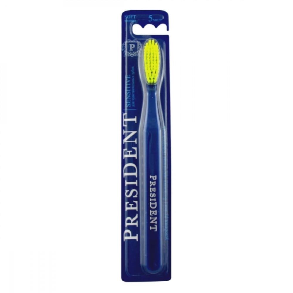 President Sensitive зубная щетка