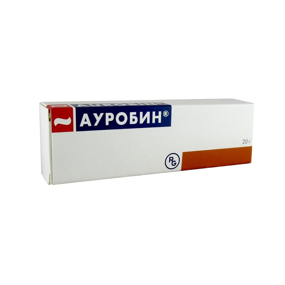 Ауробин мазь, 20 гр