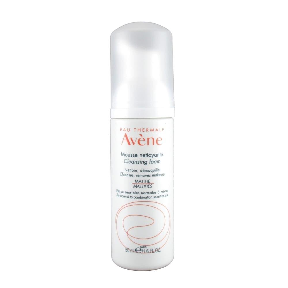 Avene Пенка очищающая для лица и области глаз, 50 мл.