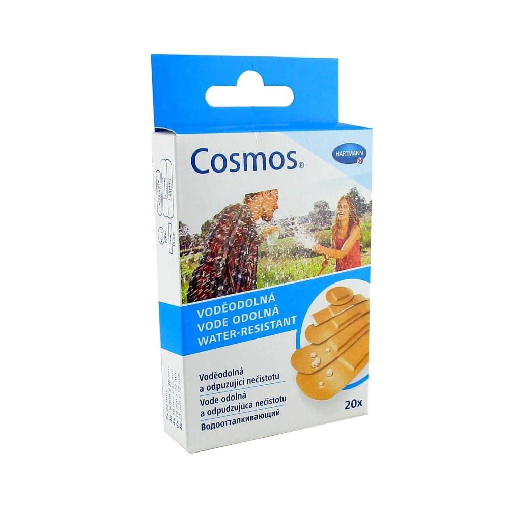 COSMOS water-resistant Пластырь водоотталкивающий, 5 размеров, 20 шт