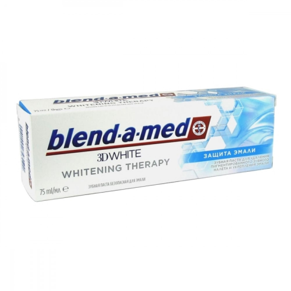 Blend-a-med з/п 3D white Whitening Therapy Защита эмали, 75 мл.
