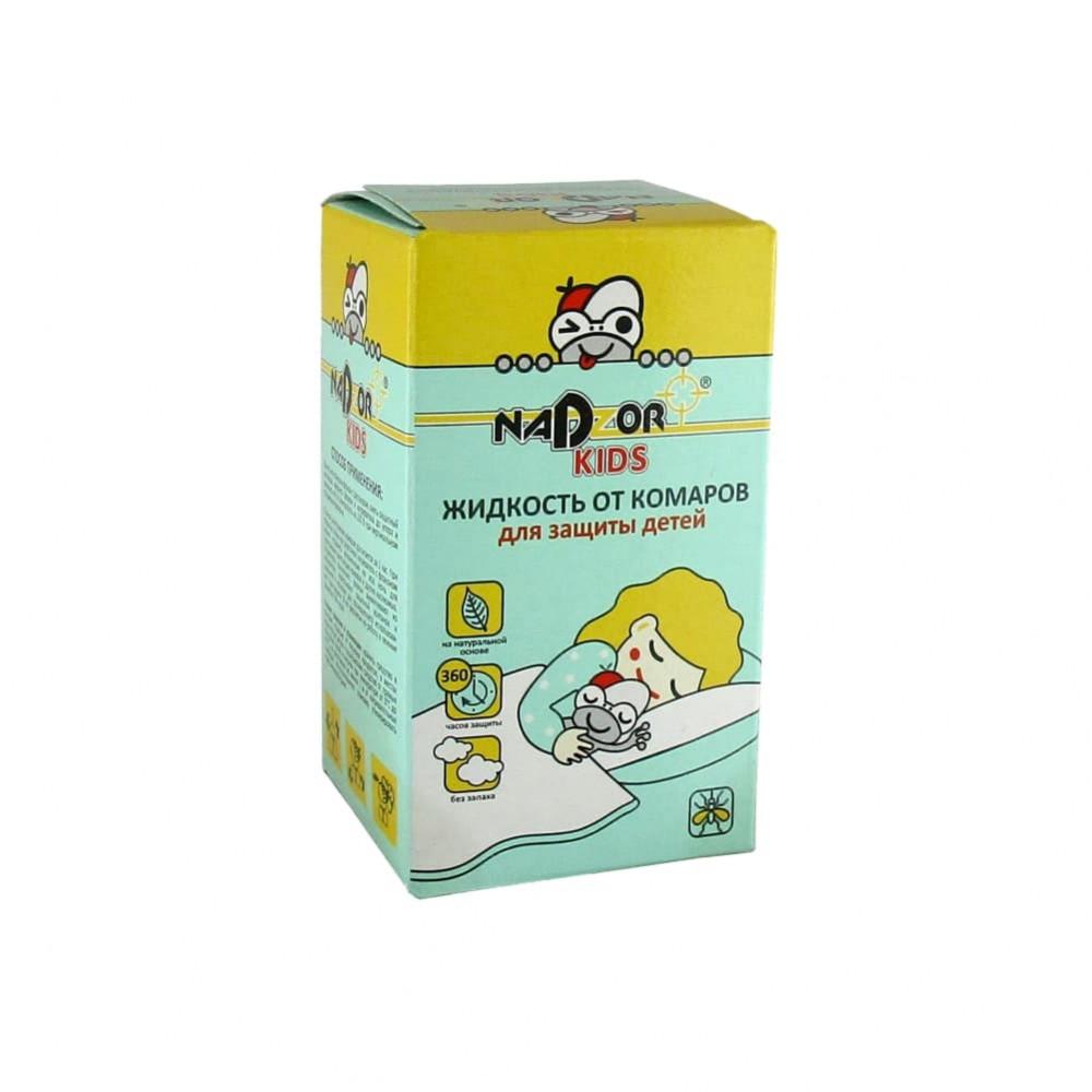 NADZOR Жидкость для фумигатора для детей, 30 мл.