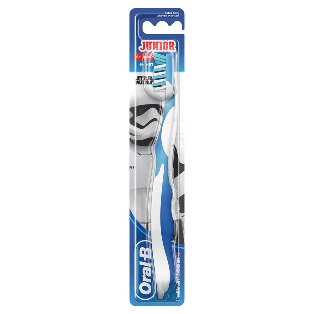 Oral-B Зубная щетка Junior для детей 6-12 лет, мягкая