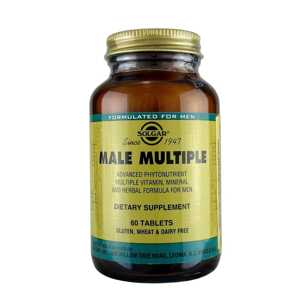 SOLGAR Мультивитаминный и минеральный комплекс для мужчин 60 таблеток.