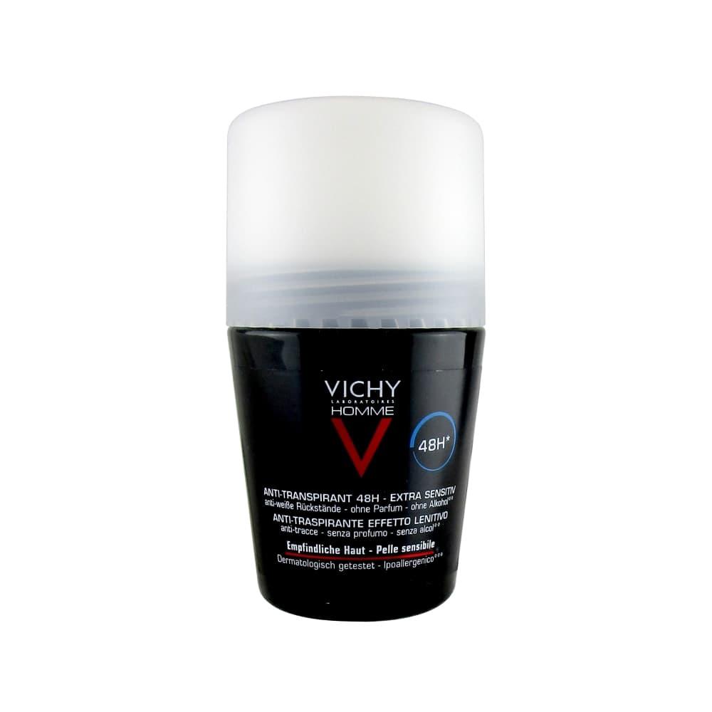 VICHY HOMME Дезодорант мужской для чувствительной кожи 48ч, 50 мл