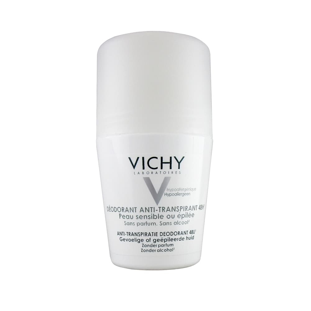 VICHY Дезодорант для чувствительной кожи 48ч, 50 мл