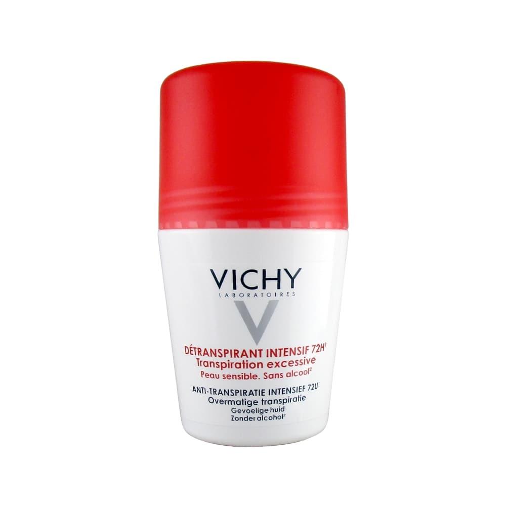 VICHY Дезодорант анти-стресс, против избыточного потоотделения 72ч, 50 мл
