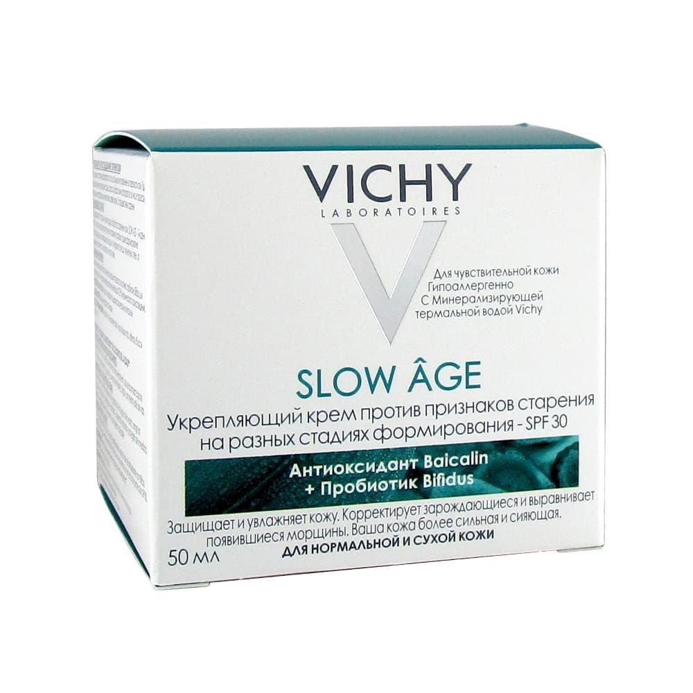 VICHY SLOW AGE Укрепляющий крем против признаков старения SPF 30, 50 мл