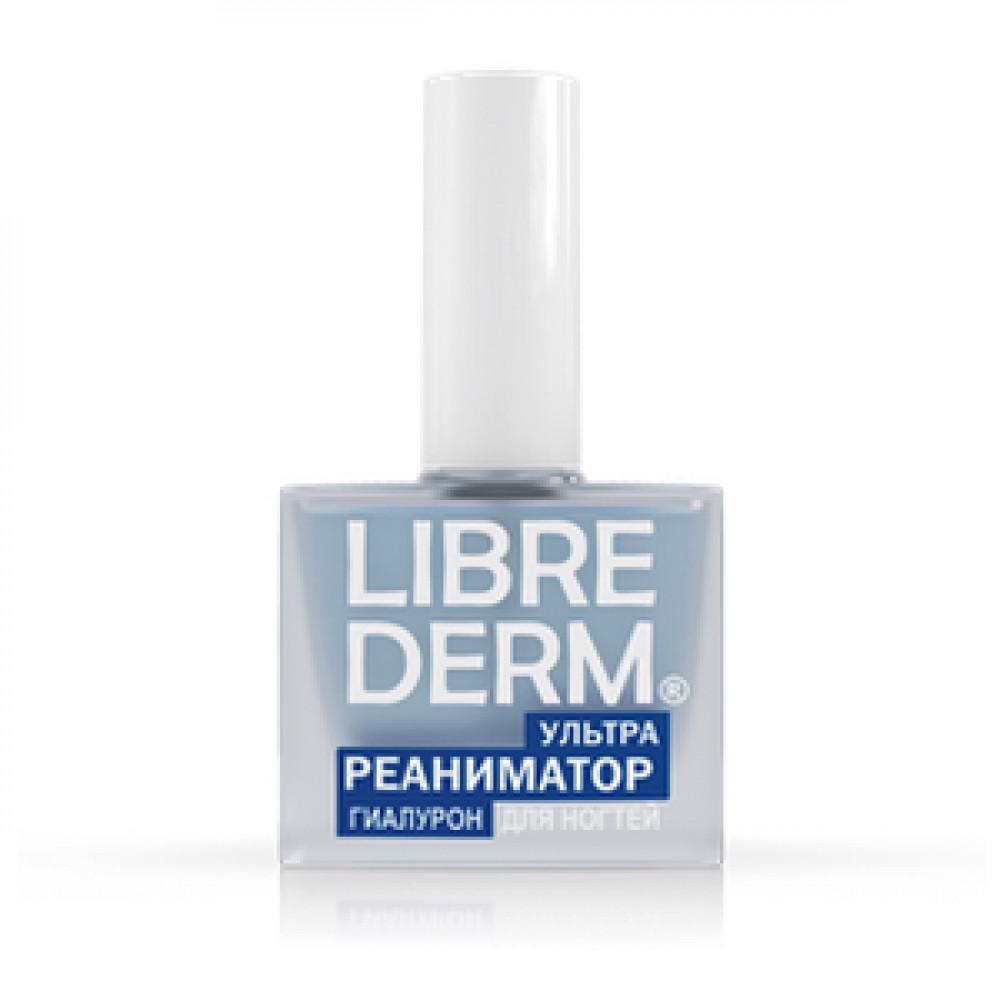 LIBREDERM Лак для ногтей Ультрареаниматор гиалурон, 10 мл.
