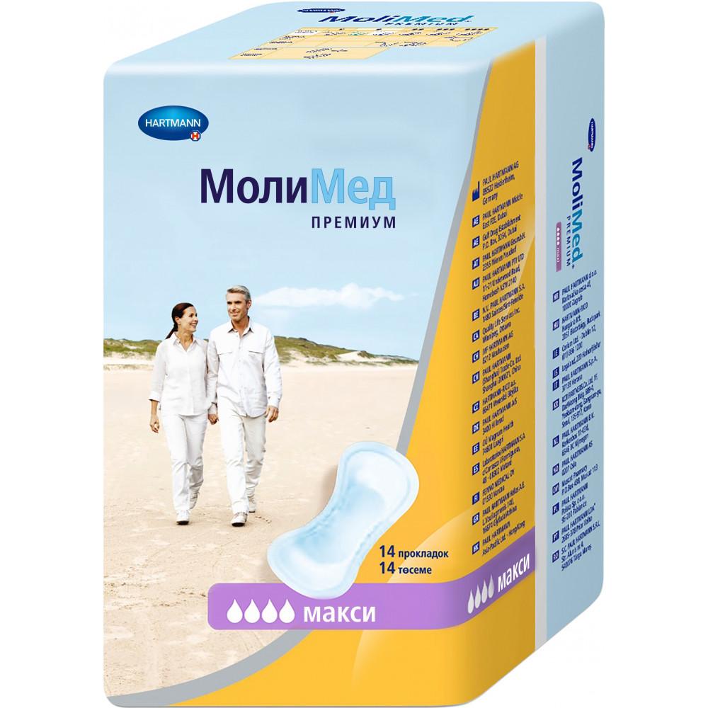 MoliMed Premium maxi прокладки урологические, 14шт.