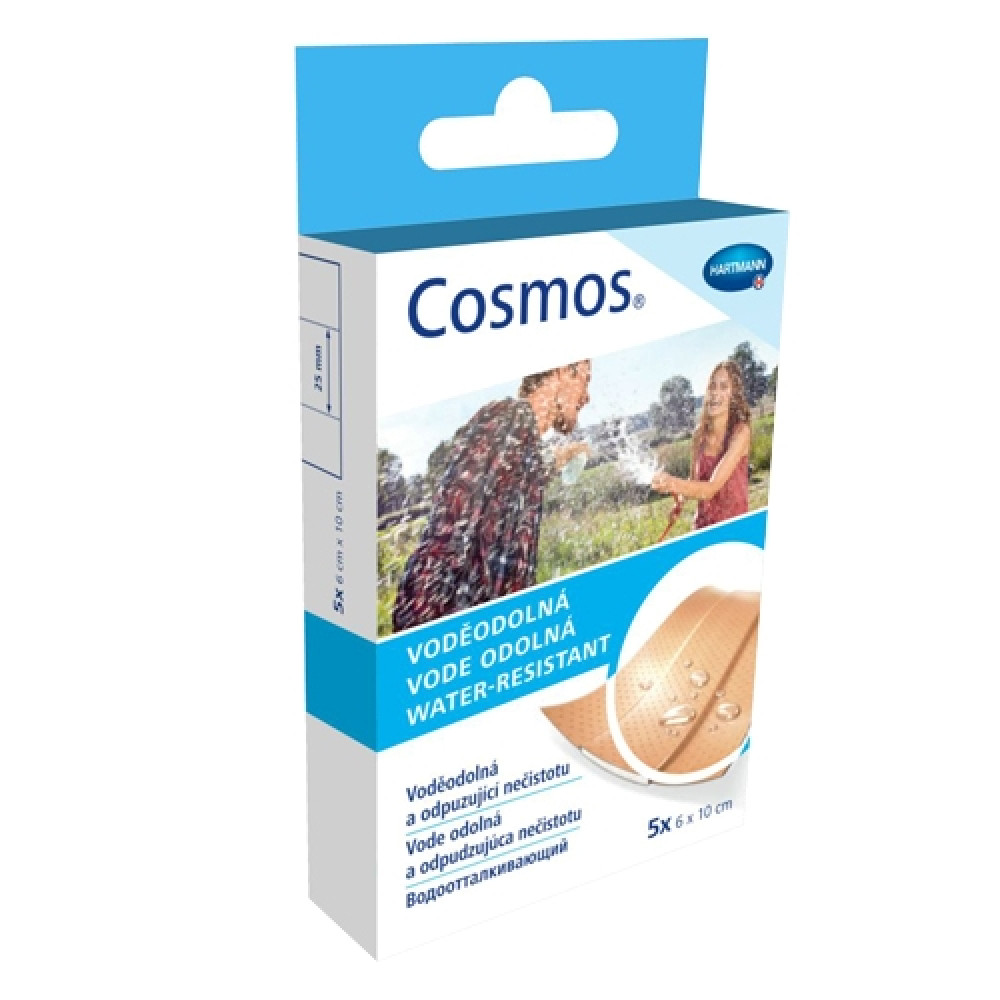 COSMOS water-resistant Пластырь водоотталкивающий, 2 размера, 20 шт