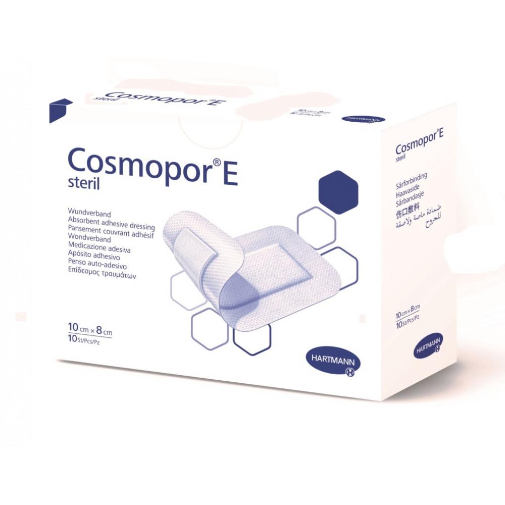 Cosmopor E steril Повязка пластырного типа 10 см х 8 см, 10 шт.