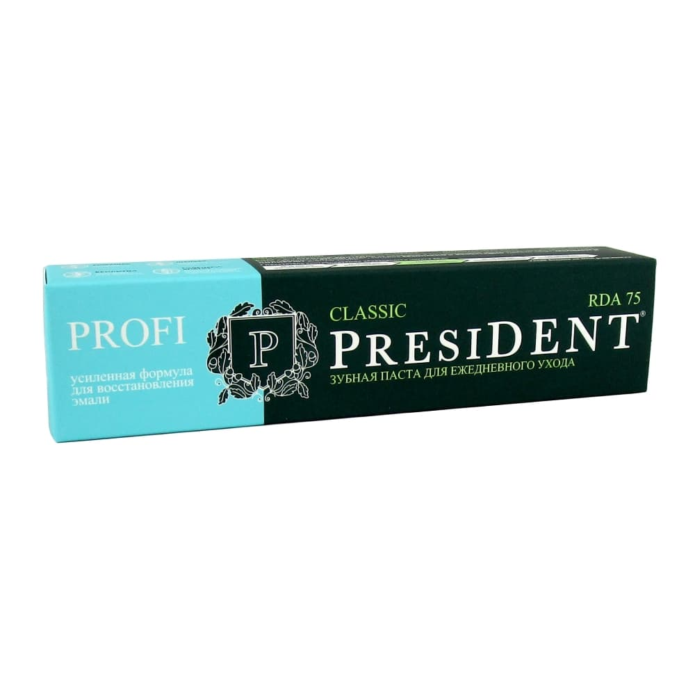 President Profi Classic зубная паста, 50 мл.